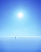 カヌーと海