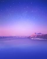 摩周湖と星