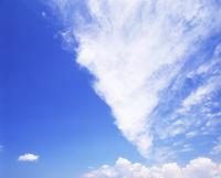 すじ雲 22320016092| 写真素材・ストックフォト・画像・イラスト素材|アマナイメージズ