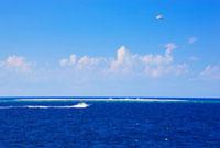 ナガンヌ島とクルーザーとセスナ