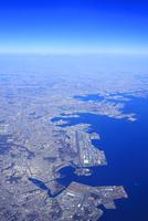 八景島など東京湾と横浜市遠望