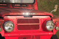タプコプ創遊村の旧型の消防車 22320041316| 写真素材・ストックフォト・画像・イラスト素材|アマナイメージズ