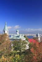 秋のハリストス正教会 22320041456| 写真素材・ストックフォト・画像・イラスト素材|アマナイメージズ