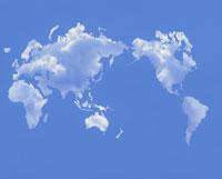 雲の世界地図