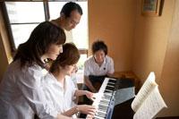 ピアノと家族