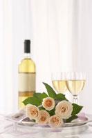ワインとバラ