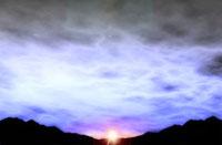 夕焼け 日の出