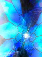青い拡散OR集中イメージ