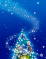 クリスマスツリー CG