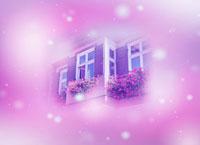 窓とクリスマスのイメージ 22323001666| 写真素材・ストックフォト・画像・イラスト素材|アマナイメージズ