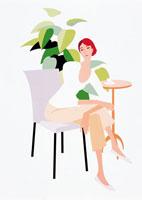 女性 イラスト