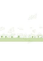 街並みと緑と自然