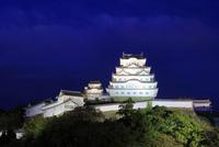 ライトアップ 姫路城 白鷺城 大天守 世界文化遺産遺産