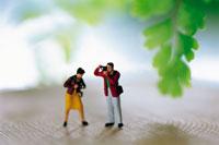 旅行イメージカップル