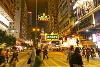 夜景の香港 22361004620| 写真素材・ストックフォト・画像・イラスト素材|アマナイメージズ