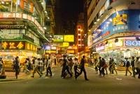 夜景の香港 22361004621| 写真素材・ストックフォト・画像・イラスト素材|アマナイメージズ