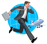 走るビジネスマン 22370000214| 写真素材・ストックフォト・画像・イラスト素材|アマナイメージズ