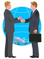 握手をするビジネスマン 22370000224| 写真素材・ストックフォト・画像・イラスト素材|アマナイメージズ