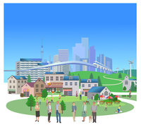 低炭素社会と街シニア