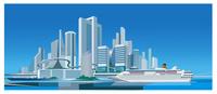 客船と ICT未来都市