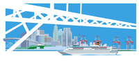 橋と港湾-5