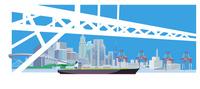 橋と港湾-6