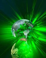 破裂する地球 CG 22381000542| 写真素材・ストックフォト・画像・イラスト素材|アマナイメージズ