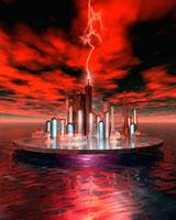 海洋エネルギー都市イメージ