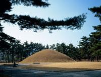 武烈王陵 22388000080| 写真素材・ストックフォト・画像・イラスト素材|アマナイメージズ