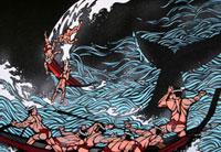 捕鯨 22412000040| 写真素材・ストックフォト・画像・イラスト素材|アマナイメージズ