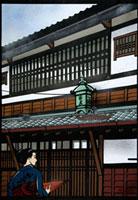 京の町屋 22412000045| 写真素材・ストックフォト・画像・イラスト素材|アマナイメージズ