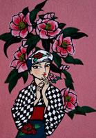 椿の女 22412000064| 写真素材・ストックフォト・画像・イラスト素材|アマナイメージズ