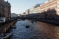 グリボエードフ運河と家並み
