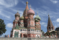 玉ねぎ型ドームの聖ワシリー大聖堂