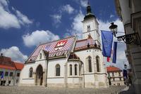 屋根の装飾が美しい聖マルコ教会
