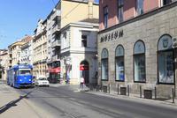 サラエボ博物館と街並み