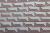部分的に削ったスグラフィット方式の壁の模様