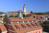チェスキークルムロフ城と城の塔