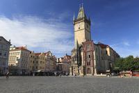 旧市街広場に建つ旧市庁舎の塔