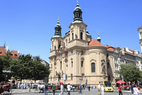 旧市街広場と聖ミクラーシュ教会