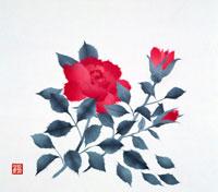 バラ イラスト 22451004601| 写真素材・ストックフォト・画像・イラスト素材|アマナイメージズ