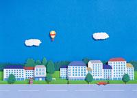 街イメージ イラスト