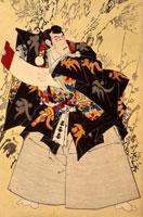 九代目市川団十郎 22451006737| 写真素材・ストックフォト・画像・イラスト素材|アマナイメージズ