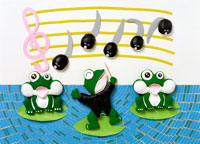 カエルの合唱イメージ