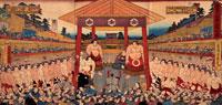 歓進大相撲土俵入之図 22451008414| 写真素材・ストックフォト・画像・イラスト素材|アマナイメージズ