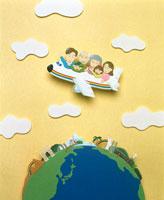 旅行ファミリーイメージクラフト