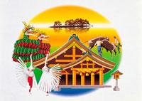 島根県イラスト 22451009452| 写真素材・ストックフォト・画像・イラスト素材|アマナイメージズ