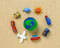 旅行イメージクラフト