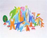 街と人々クラフト