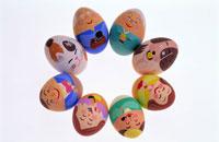 卵アート 22451011626| 写真素材・ストックフォト・画像・イラスト素材|アマナイメージズ